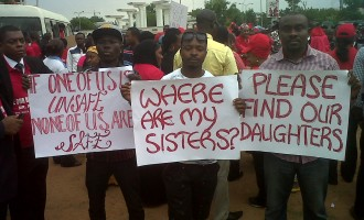Protesters give FG 24 hours to find abducted girls