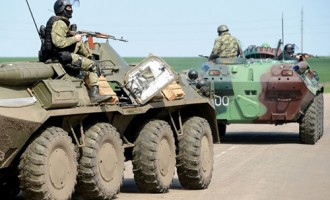 Ukraine crisis: Army moves to retake Sloviansk