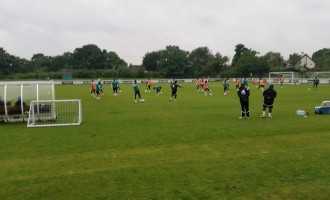 Super Eagles start training in London