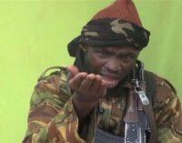 EXTRA: Shekau now wears hijab, says army
