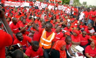 FG asks #BringBackOurGirls campaigners to direct protests at 'terrorists and abductors'