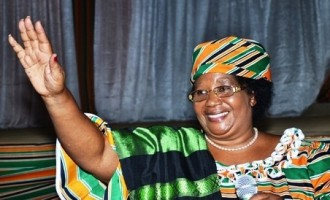 Malawi President, Banda, says she's being rigged out of office