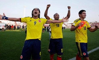 COUNTDOWN 11: It's Falcao and Rodriguez for Colombia