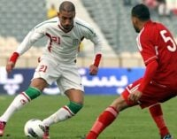 Iran striker looking forward to Nigeria-Scotland clash
