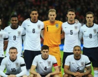 Cole, Carrick out of England's WC squad