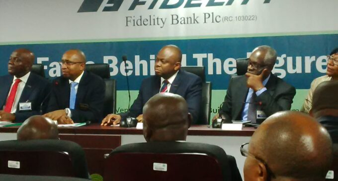 In austere times, Fidelity Bank promotes 963!