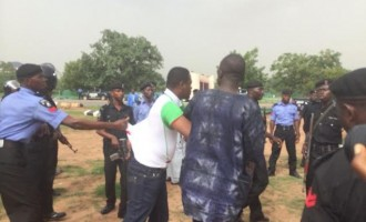 Police manhandle TheCable journalist, Melaye