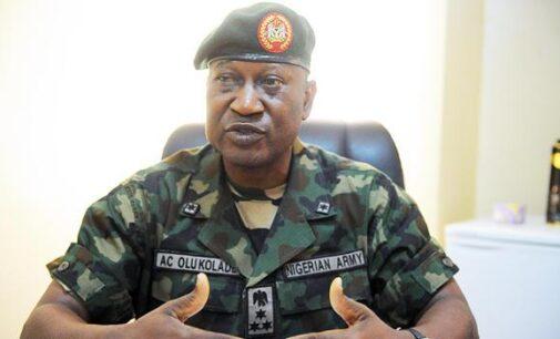 Olukolade: Borno mutineers 'already facing trial'