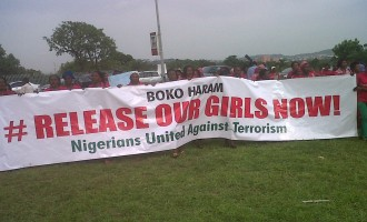 #ReleaseOurGirlsNow protesters 'paid N4,000'