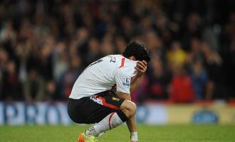 Suarez crying after Liverpool 3-3 Crystal Palace