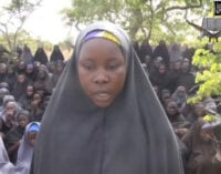 Most girls in video 'not from Chibok'