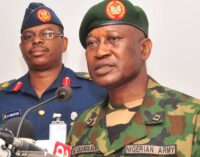 Troops recover arms in Benue, Plateau, Kaduna