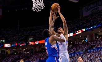 LA Clippers vs Oklahoma City Thunder 104-105 final minute