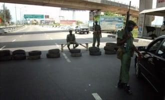 Nyanya blast: Soldiers mount more road blocks