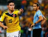 Colombia make first ever World Cup quarterfinal