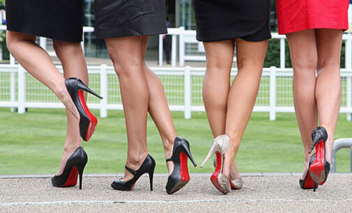 Revealed: High heels and good sex have something in common