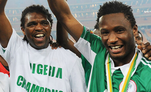 Kanu: 'We are getting to the semi-finals, of course'