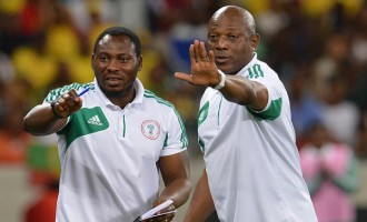 Amokachi wants to coach Super Eagles and 'take them to a level they've never been'