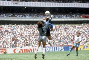 Maradona's famous — or is it infamous? — 'Hand of God'