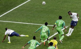 Corner-kick errors send Eagles out of Brazil