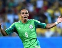 Some ex-Eagles coaches served as players' managers, says Odemwingie