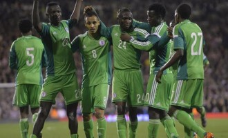 FIFA 'World Cup' ranking: Nigeria rooted to 44th