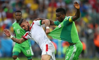 Nigeria vs. Iran: Drab draw, stinging reactions