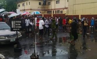 UNILAG cancels N25,000 fine after student protest