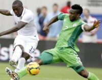 Yobo out of starting XI vs Iran