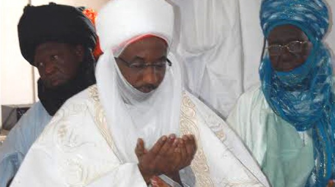 Sanusi finally takes over the palace