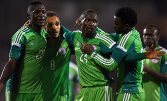 Inside Nigeria's camp … just before the Iran game