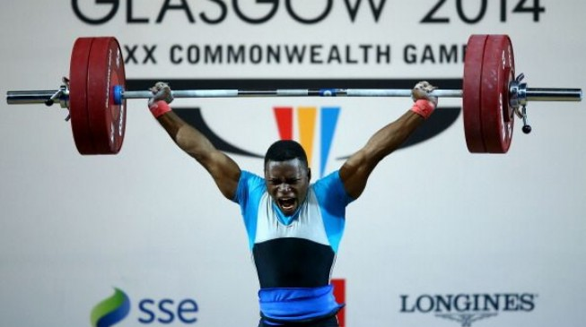 Ayenuwa wins silver in men's weightlifting