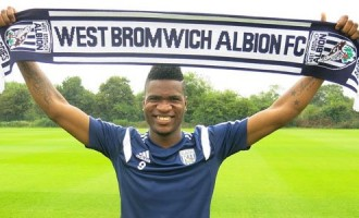 Westbromwich Albion sign Brown Ideye in record transfer