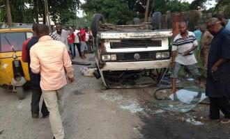 Many injured in Lagos car crash