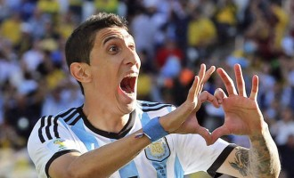 Last-gasp Di Maria strike sinks the Swiss