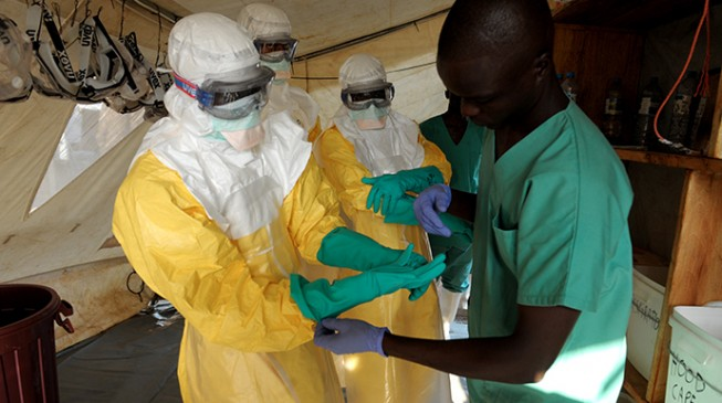 16 test positive to Ebola in Guinea