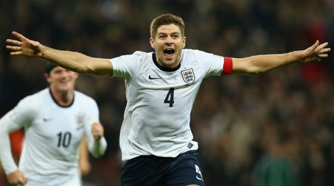Gerrard quits international football