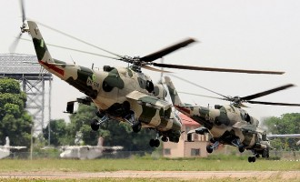 Troops 'airlift' 20 women, children from Sambisa