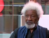 'Soldiers have replaced SARS'– Soyinka condemns attack on protesters