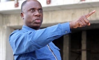 'You lied about Jonathan's govt' — Amaechi challenges Peter Obi to debate at Catholic Church