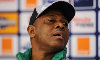 Keshi to handle Congo, SA matches 'without a contract'