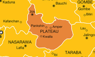 Residents loot COVID-19 palliatives in Plateau warehouse