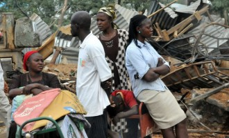 340 shanties demolished in Abuja