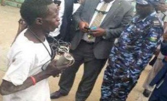 'Man with explosives' arrested at Lagos airport