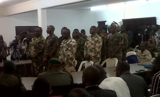 Army court-martials 579 officers in Abuja, Lagos