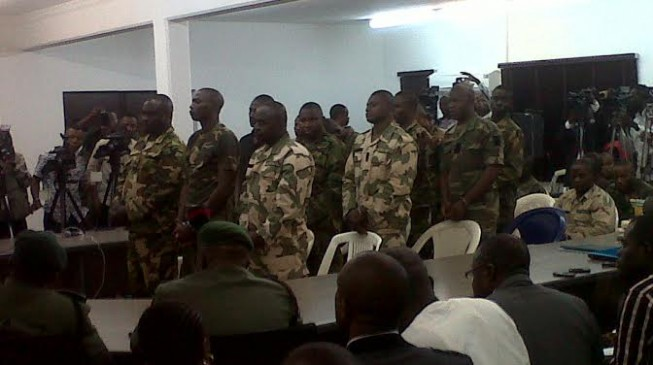 Army to try 70 soldiers 'who erred' in the fight against Boko Haram