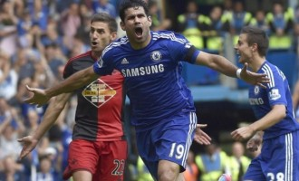 Costa treble inspires Chelsea victory… Arsenal, City draw