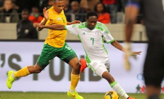 Its stalemate for Nigeria and South Africa in Cape Town