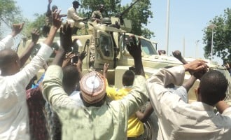 Army: We freed 11,595 captives in 1 month