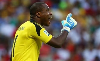 Enyeama out of Congo, SA games